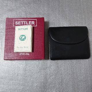 SETTLER セトラー  三つ折り財布 ミニ SMALL 3FOLD (折り財布)