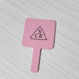 スリーシーイー(3ce)の3CE ミラー ピンク(ミラー)