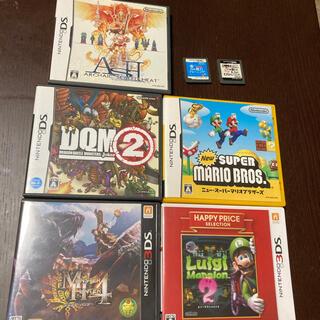 ニンテンドー3DS(ニンテンドー3DS)のDS 3DSソフト セット マリオ ルイージマンション他(携帯用ゲームソフト)