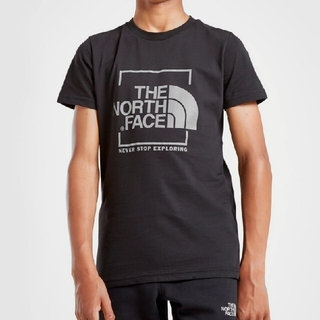 ザノースフェイス(THE NORTH FACE)のノースフェイス リフレクティブロゴTシャツ 海外限定 キッズ150相当(Tシャツ/カットソー)