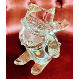 バカラ(Baccarat)のバカラ 美品 スノーマンクリスタルガラス(置物)