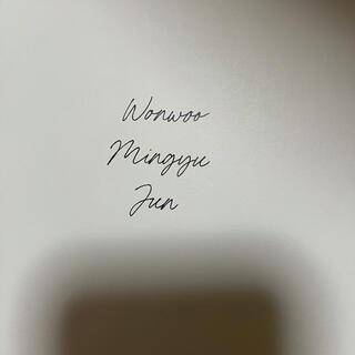 セブンティーン(SEVENTEEN)のセブチ your choice ウォヌ ミンギュ ジュン フォトブック(K-POP/アジア)