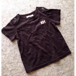 キャサリンハムネット(KATHARINE HAMNETT)のロゴプリントtee 90 キッズ ベビー Tシャツ(Tシャツ/カットソー)