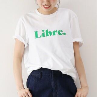 スピックアンドスパン(Spick and Span)のスピック&スパン、Libregreen Tシャツ、美品(Tシャツ(半袖/袖なし))