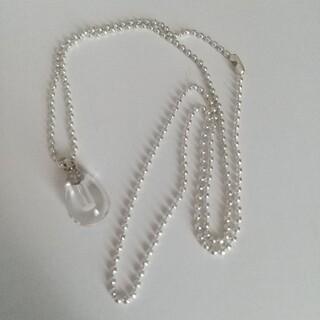 クレアーズ(claire's)の近々出品終了 未使用品ネックレス 水晶モチーフ(ネックレス)