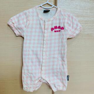 アナップキッズ(ANAP Kids)のANAP♡ロンパース♡60-70♡(ロンパース)