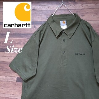 carhartt - Carhartt カーハート ワンポイント刺繍ロゴ ポロシャツ