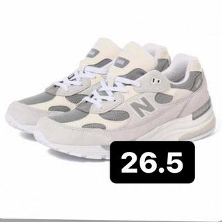ニューバランス(New Balance)のnew balance M992 nc BEAMS  991 993 26.5(スニーカー)