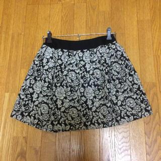ロディスポット(LODISPOTTO)のLODISPOTTO ジャガード花柄スカート(ひざ丈スカート)