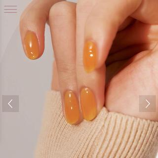 スリーシーイー(3ce)の新品未開封 hince  ヒンス グロウアップネイルカラー オレンジ(マニキュア)