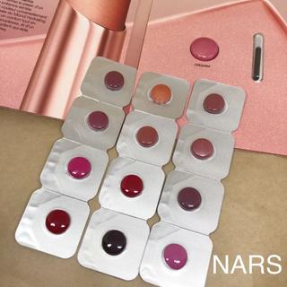 ナーズ(NARS)のNARS リップスティック サンプル12色(サンプル/トライアルキット)