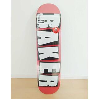 ベイカー ブランド ロゴ スケートボード スケボー デッキ 板 8インチ(スケートボード)