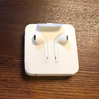 アップル(Apple)のアップル 純正 イヤホン ライニングタイプ iPhone 8 付属品(ヘッドフォン/イヤフォン)