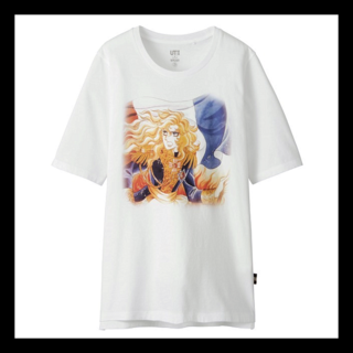 ユニクロ(UNIQLO)のUNIQLO × ベルサイユのばら(Tシャツ(半袖/袖なし))