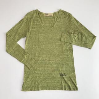 トーガ(TOGA)のTOGA PULLA トーガプルラ◆ラウンドネック コットン 長袖Tシャツ F(カットソー(長袖/七分))
