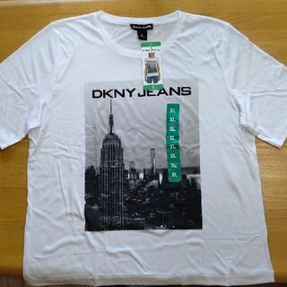 ダナキャランニューヨーク(DKNY)のDKNY 半袖 Tシャツ スポーツウェア 部屋着 XL(Tシャツ(半袖/袖なし))