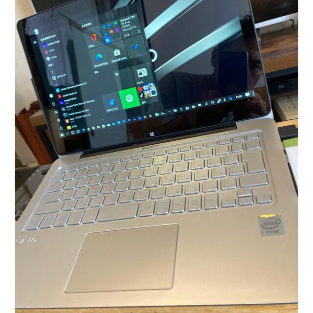 VAIO(バイオ)のSONY VAIO Fit 11A SVF11N19EJS タッチパネル スマホ/家電/カメラのPC/タブレット(ノートPC)の商品写真