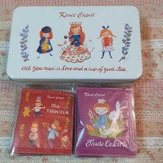カレルチャペック紅茶店✤10Tea Lover缶/Tea Queen(茶)
