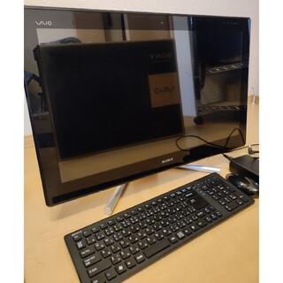 バイオ(VAIO)のSONY VAIO VPCL24AJ ※SSD交換済み(デスクトップ型PC)