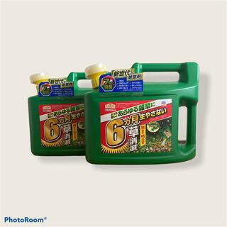アースセイヤク(アース製薬)のアースガーデン 除草剤 アースカマイラズ ジョウロヘッド(4.5L*2個セット)(その他)