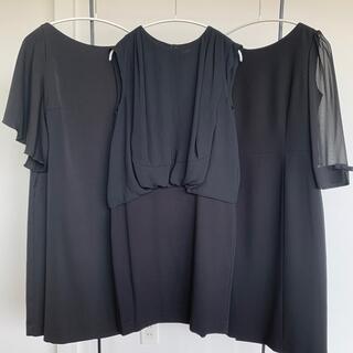 ドレステリア(DRESSTERIOR)の冠婚葬祭 ブラックフォーマル ワンピース 3点セット(礼服/喪服)
