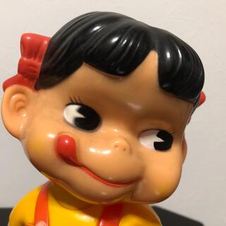 フジヤ(不二家)のレトロ ペコちゃん人形(ノベルティグッズ)