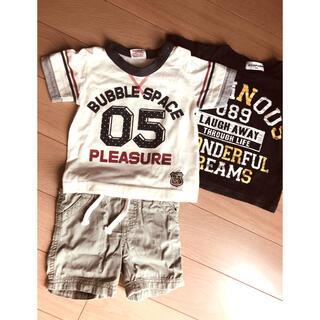 オールドネイビー(Old Navy)のTシャツ2枚とズボン★サイズ80★(Tシャツ)