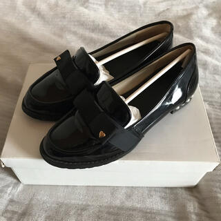 ロディスポット(LODISPOTTO)の新品‼︎ LODISPOTTO リボンローファー(ローファー/革靴)