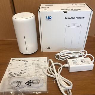 ファーウェイ(HUAWEI)のHUAWEI Speed Wi-Fi HOME L02(PC周辺機器)