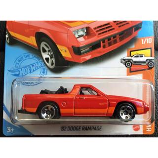 クライスラー(Chrysler)のホットウィール '82 DOOGE RAMPAGE ランページ ランペイジ(ミニカー)
