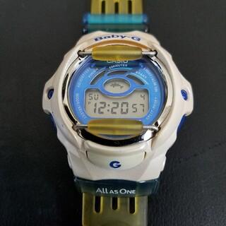 ベビージー(Baby-G)のカシオ Baby-g  イルカクジラ 電池交換済(腕時計(デジタル))