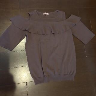トッカ(TOCCA)のTOCCA オフショル風トップス(カットソー(半袖/袖なし))