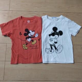 Right-on - 110cm ミッキー Tシャツ 2枚