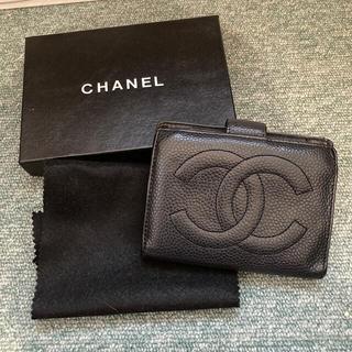 シャネル(CHANEL)のあこやんさま専用 シャネル 2つ折り財布(折り財布)
