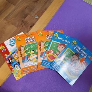 英語の教材、アメリカ幼稚園の教材5冊セット(絵本/児童書)