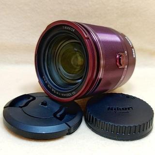 ニコン(Nikon)の高倍率ズームレンズ Nikon 1 NIKKOR 10-100mm 赤(レンズ(ズーム))