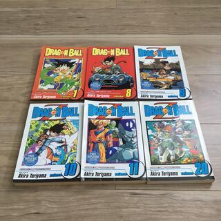 ドラゴンボール(ドラゴンボール)の英語版 ドラゴンボール 6冊セット(少年漫画)