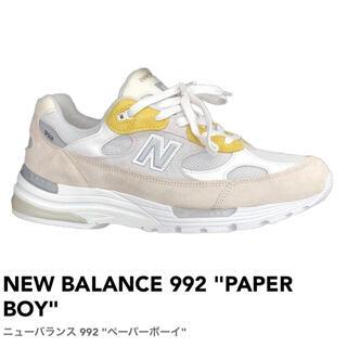 """ニューバランス(New Balance)のNEW BALANCE 992 """"PAPER BOY"""" 26cm(スニーカー)"""