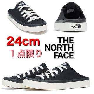 ザノースフェイス(THE NORTH FACE)の【海外限定】THE NORTH FACE キャンバス スニーカー ブラック(スニーカー)