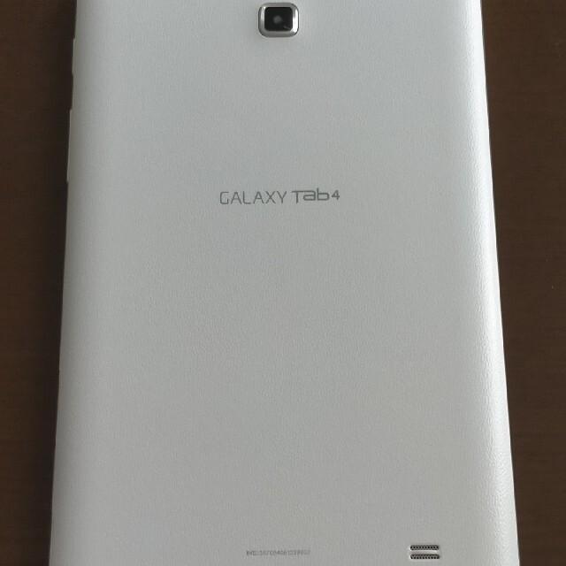 SAMSUNG(サムスン)のGalaxy tab4 スマホ/家電/カメラのPC/タブレット(タブレット)の商品写真
