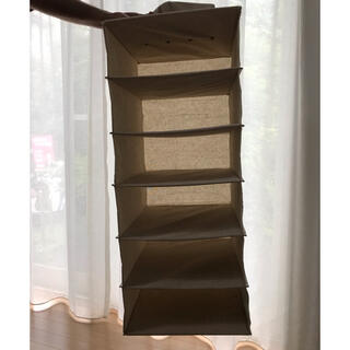 ムジルシリョウヒン(MUJI (無印良品))の吊り下げ収納 布ラック(棚/ラック/タンス)