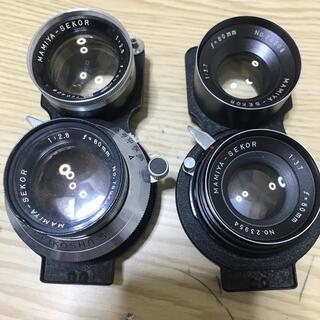 マミヤ(USTMamiya)のMamiya マミヤ 80mm  レンズ 二眼レフ(レンズ(単焦点))
