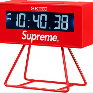 シュプリーム(Supreme)のSupreme®/Seiko Marathon Clock (置時計)