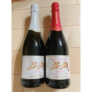 スパークリングワイン サンテロ 天使のロッソ、アスティ  750ml(シャンパン/スパークリングワイン)