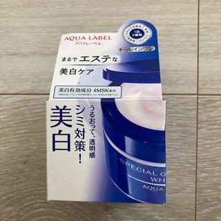 アクアレーベル(AQUALABEL)の資生堂 アクアレーベル スペシャルジェルクリームA (ホワイト)(90g)(オールインワン化粧品)