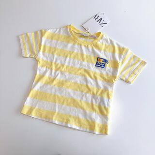 ZARA - 新品♡ ZARA ボーダー Tシャツ 80