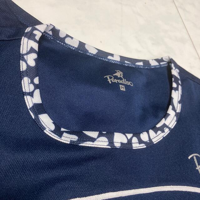 Paradiso(パラディーゾ)のパラディーゾ上下 ネイビー スポーツ/アウトドアのテニス(ウェア)の商品写真