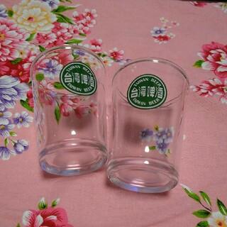 台湾ビール グラス 2こセット(グラス/カップ)