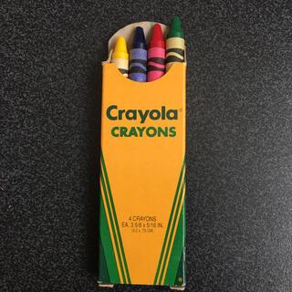 crayolaクレヨン4色セット(クレヨン/パステル)