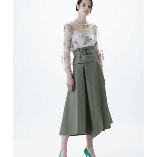 グレースコンチネンタル(GRACE CONTINENTAL)の美品 グレースコンチネンタル    スカート 半額以下で(ひざ丈スカート)
